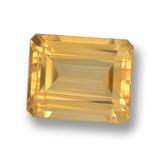 thumb image of 4.3ct Octagon Step Cut Yellow Golden Citrine (ID: 459889)