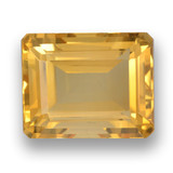 thumb image of 4.8ct Octagon Step Cut Yellow Golden Citrine (ID: 459906)