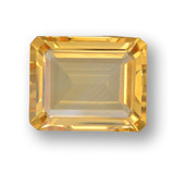 thumb image of 3.9ct Octagon Step Cut Yellow Golden Citrine (ID: 459909)