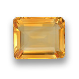 thumb image of 4.5ct Octagon Step Cut Yellow Golden Citrine (ID: 459910)