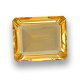 thumb image of 4ct Octagon Step Cut Yellow Golden Citrine (ID: 459912)