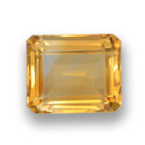 thumb image of 4.5ct Octagon Step Cut Yellow Golden Citrine (ID: 459913)