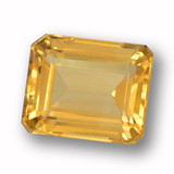 thumb image of 4.6ct Octagon Step Cut Yellow Golden Citrine (ID: 459928)