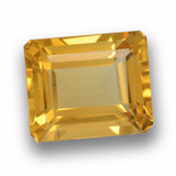 thumb image of 4.5ct Octagon Step Cut Yellow Golden Citrine (ID: 459931)