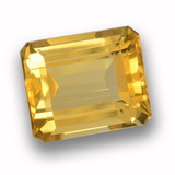 thumb image of 4.7ct Octagon Step Cut Yellow Golden Citrine (ID: 459935)