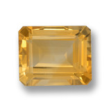 thumb image of 4.3ct Octagon Step Cut Yellow Golden Citrine (ID: 459952)