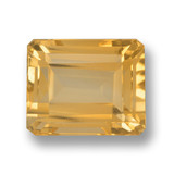 thumb image of 5.9ct Octagon Step Cut Yellow Golden Citrine (ID: 459956)