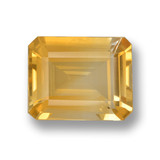 thumb image of 3.6ct Octagon Step Cut Yellow Golden Citrine (ID: 459958)