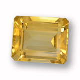 thumb image of 4.5ct Octagon Step Cut Yellow Golden Citrine (ID: 459983)