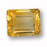 thumb image of 5.4ct Octagon Step Cut Yellow Golden Citrine (ID: 459984)