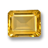 thumb image of 4.9ct Octagon Step Cut Yellow Golden Citrine (ID: 460007)