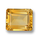 thumb image of 4.8ct Octagon Step Cut Yellow Golden Citrine (ID: 460008)