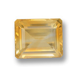 thumb image of 4.2ct Octagon Step Cut Yellow Golden Citrine (ID: 460028)