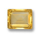 thumb image of 4.7ct Octagon Step Cut Yellow Golden Citrine (ID: 460029)