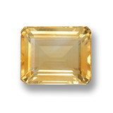 thumb image of 4.9ct Octagon Step Cut Yellow Golden Citrine (ID: 460034)