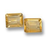 thumb image of 6.3ct Octagon Step Cut Yellow Golden Citrine (ID: 460066)
