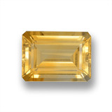 thumb image of 15.5ct Octagon Step Cut Yellow Golden Citrine (ID: 460095)