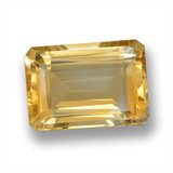 thumb image of 14.8ct Octagon Step Cut Yellow Golden Citrine (ID: 460099)