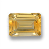thumb image of 16.9ct Octagon Step Cut Yellow Golden Citrine (ID: 460101)