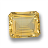 thumb image of 8.6ct Octagon Step Cut Yellow Golden Citrine (ID: 460105)