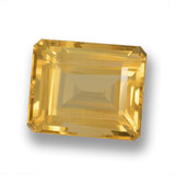 thumb image of 7.3ct Octagon Step Cut Yellow Golden Citrine (ID: 460617)