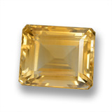 thumb image of 7.1ct Octagon Step Cut Yellow Golden Citrine (ID: 460618)