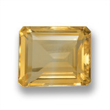 thumb image of 5.9ct Octagon Step Cut Yellow Golden Citrine (ID: 460619)