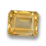 thumb image of 6.8ct Octagon Step Cut Yellow Golden Citrine (ID: 460625)