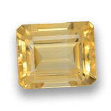 thumb image of 4.5ct Octagon Step Cut Yellow Golden Citrine (ID: 460654)