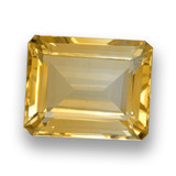 thumb image of 4.4ct Octagon Step Cut Yellow Golden Citrine (ID: 460655)