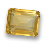 thumb image of 4.7ct Octagon Step Cut Yellow Golden Citrine (ID: 460657)
