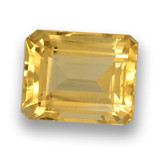 thumb image of 4.8ct Octagon Step Cut Yellow Golden Citrine (ID: 460661)