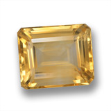 thumb image of 6ct Octagon Step Cut Yellow Golden Citrine (ID: 460712)