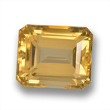 thumb image of 7.4ct Octagon Step Cut Yellow Golden Citrine (ID: 460713)