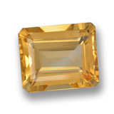 thumb image of 5.4ct Octagon Step Cut Yellow Golden Citrine (ID: 460715)