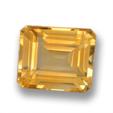 thumb image of 7.4ct Octagon Step Cut Yellow Golden Citrine (ID: 460716)