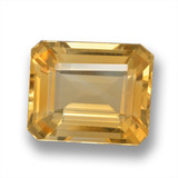 thumb image of 5.1ct Octagon Step Cut Yellow Golden Citrine (ID: 460717)