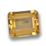 thumb image of 5.1ct Octagon Step Cut Yellow Golden Citrine (ID: 460719)