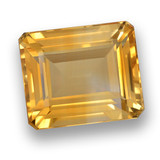thumb image of 6.5ct Octagon Step Cut Yellow Golden Citrine (ID: 460772)