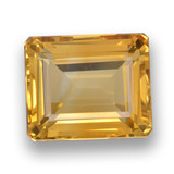 thumb image of 7.1ct Octagon Step Cut Yellow Golden Citrine (ID: 460775)