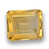 thumb image of 6.1ct Octagon Step Cut Yellow Golden Citrine (ID: 460777)
