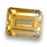 thumb image of 5.9ct Octagon Step Cut Yellow Golden Citrine (ID: 460780)