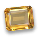 thumb image of 5.2ct Octagon Step Cut Yellow Golden Citrine (ID: 460783)