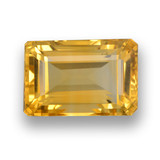 thumb image of 4.7ct Octagon Step Cut Yellow Golden Citrine (ID: 460957)