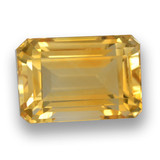 thumb image of 5ct Octagon Step Cut Yellow Golden Citrine (ID: 460961)