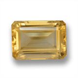 thumb image of 7.9ct Octagon Step Cut Yellow Golden Citrine (ID: 460999)