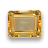 thumb image of 4.5ct Octagon Step Cut Yellow Golden Citrine (ID: 461028)