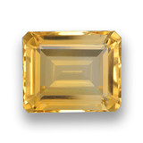 thumb image of 4.2ct Octagon Step Cut Yellow Golden Citrine (ID: 461033)
