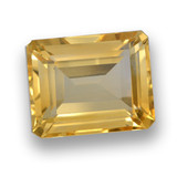 thumb image of 4.3ct Octagon Step Cut Yellow Golden Citrine (ID: 461034)