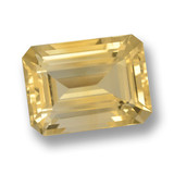 thumb image of 7.6ct Octogone taillé en degrés Or moyen Citrine (ID: 461131)